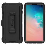 OtterBox Defender Case & Belt Clip Holster for Samsung Galaxy S10 - Black
